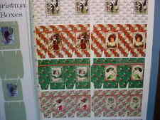 Christmas Boxes Color Printed Sheet, 512a  Dollhouse Miniature