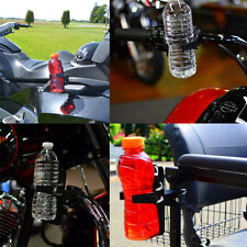 Universal Harley  Motorcycle Bike Drink Cup Holder Beverage Water Bottle BLACK