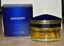 Boucheron Pour Homme Eau De Toilette Splash 4.2 Fl oz / 125ml Sealed Original