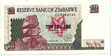 Zimbabwe 10 dollars 1997       FDS  UNC       pick 6      lotto 3603