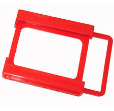 2.5 to 3.5 Adapter Bracket SSD HDD Notebook Mounting Tray Caddy Bay Red