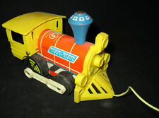Fisher Price #643 Toot-Toot Pull Toy Train 1964