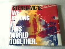 STEREO MC'S - WE BELONG IN THIS WORLD TOGETHER - UK CD SINGLE