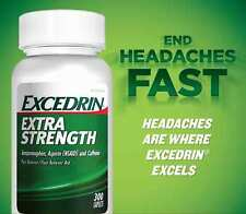 Excedrin Extra Strength Acetaminophen Aspirin (NSAID) Pain Reliever 300 Caplets