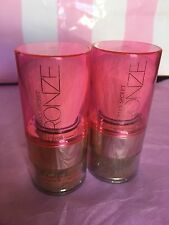 Lot of 2 Victoria's Secret BRONZE INSTANT BRONZING Shimmer Powder .15 oz SEALED
