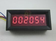 6 Digital Motor Red LED Tachometer RPM Speed Measure Gauge Meter Tester 5-999999