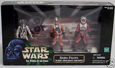 Star Wars POTF Action Figures REBEL PILOTS Ten Numb,Wedge Antilles,Arvel Crynyd