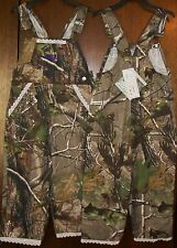 "Girls Pants sz 4T RANGER Bib Overalls REALTREE Camouflage ""You Go Girl!"" NWT"