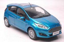 Ford Fiesta 2013 car model in scale 1:18  blue