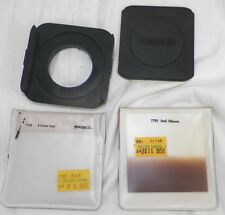 AMBICO 7700 SQUARE FILTER HOLDER WITH 2 FILTERS AND FUJICA 49MM LENS ADAPTER