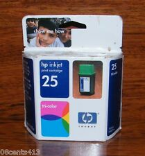 Genuine HP 25 (51625A) Tri-Color Print Ink Cartridge *EXPIRED*
