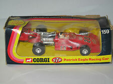 CORGI 159 STP PATRICK EAGLE INDIANAPOLIS INDY CAR 1974 in Original Box Excellent