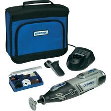 DREMEL 8200-1/35 10,8 v cordless drill KIT CON detailers grip e accessori L@@K