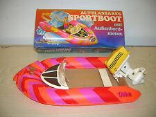VINTAGE - AIRFIX Plasty PETRA Schlauchboot Boot in BOX - 70er/80er Jahre - RAR