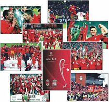 European Cup Champions League Final 2005 POSTCARD Set