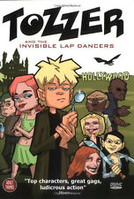 TOZZER AND THE INVISIBLE LAP DANCERS TRADE PAPERBACK ABLAZE MEDIA TPB '02 DUNLOP