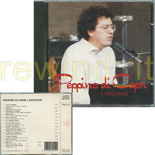 "PEPPINO DI CAPRI ""I SUCCESSI"" RARO CD 1993"