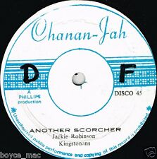 "chanan jah 12"" : KINGSTONIANS & KING SIGHTA-another scorcher  (hear)"