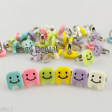 20pcs Cute Tooth Smiling Face Finger Ring Dental Clinic Gift School