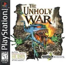 The Unholy War - PS1 PS2 Playstation Game