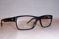 NEW DIOR HOMME CD EYEGLASSES BLACK TIE 180 807 BLACK 55mm RX AUTHENTIC