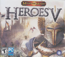 HEROES V Might and Magic 5 - US Version - RPG PC Game Windows XP, Vista, 7 - NEW