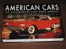 AMERICAN CARS: THE AUTOMOBILES THAT MADE AMERICA BOOK (2016) BY CRAIG CHEETHAM
