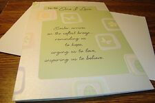 EASTER: For The One I Love / greeting Card (oversized) with envelope  New e32