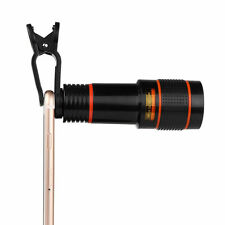 Clip-on 12x Optical Zoom HD Telescope Camera Lens For Universal Mobile Phone!!!