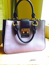 Authentic Limited Edition Bicolor Miu Miu bag made in Italy