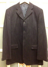 VGC ARMAND BASI SPANISH DESIGNER PIN STRIPE WOOL BLEND BLAZER SIZE 50