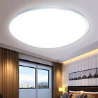 New LED Flush Mounted Ceiling Light Fixtures Living Bedroom Study Down Wall Lamp