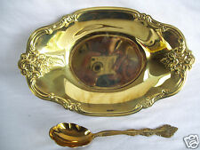 "International Silver co. WM Rogers Party Set 8 1/2"" Dish & Spoon In Original Box"