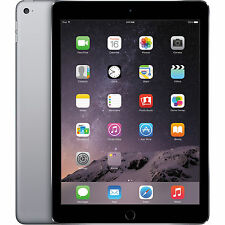 Apple iPad Air 2 64GB Wi-Fi 9.7in Tablet Space Gray MGKL2LL/A Retina Display