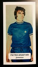 ITALIA-JUVENTUS-PIETRO ANASTASI-punteggio UK FOOTBALL TRADE card
