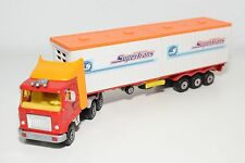 MAJORETTE SERIE 3000 MACK TRUCK WITH TRAILER CONTAINER CAMION NEAR MINT COND.