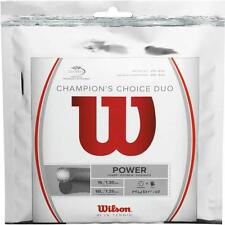 Wilson Champions Choice Duo string, Hybrid-1/2 Natural gut, 1/2 Alu power rough