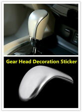 Gear Shift Knob Cover Trim ABS Chrome Fit For NISSAN ROGUE X-TRAIL 2013-2016