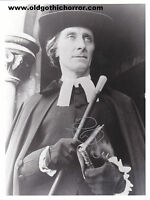 """PETER CUSHING signed autograph 7""""x 9½""""  photo Captain Clegg / Hammer / Dracula"""