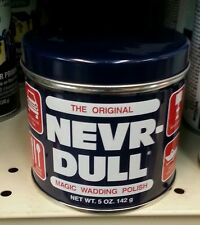 Nevr Dull Wadding Polish For All METALS Will not scratch