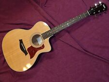 Taylor 214ce Deluxe Grand Auditorium Acoustic Electric Guitar Extra Nice Fine ++