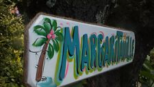 PARROTHEAD BUFFET MARGARITAVILLE TROPICAL POOL BEACH HOUSE TIKI BAR SIGN PLAQUE