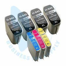 7 PACK New 940XL 940 Ink Cartridges for HP OfficeJet Pro 8000 8500 8500A Printer