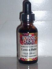 LEMON BALM LIQUID EXTRACT ALCOHOL FREE CALMING CLAM RELAX RELAXATION 1 FL OZ