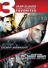 Cyborg/Death Warrant/Double Impact (DVD, 2014, 3-Disc Set) VAN DAMME