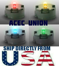 4 X High Quality MG 1/100 QANT Raiser Gundam LED Light RED BLUE YELLOW GREEN USA