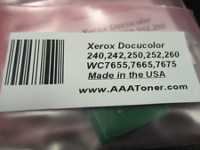 Black Toner Reset Chip 6R1219 for Xerox WorkCentre 7655, 7665, 7675 Refill