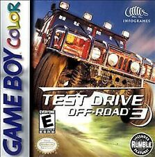 ***TEST DRIVE OFF-ROAD 3 GAME BOY COLOR GBC COSMETIC WEAR~~~
