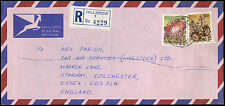 South Africa 1980 Registered, Airmail Cover To UK #C33048