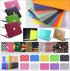Ultra-thin Rubberized Hard Case Shell Cover For Macbook Pro 13/15